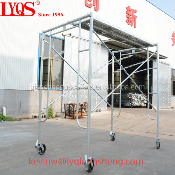 Metal scaffolding frame for construction/ tubular frame scaffolding