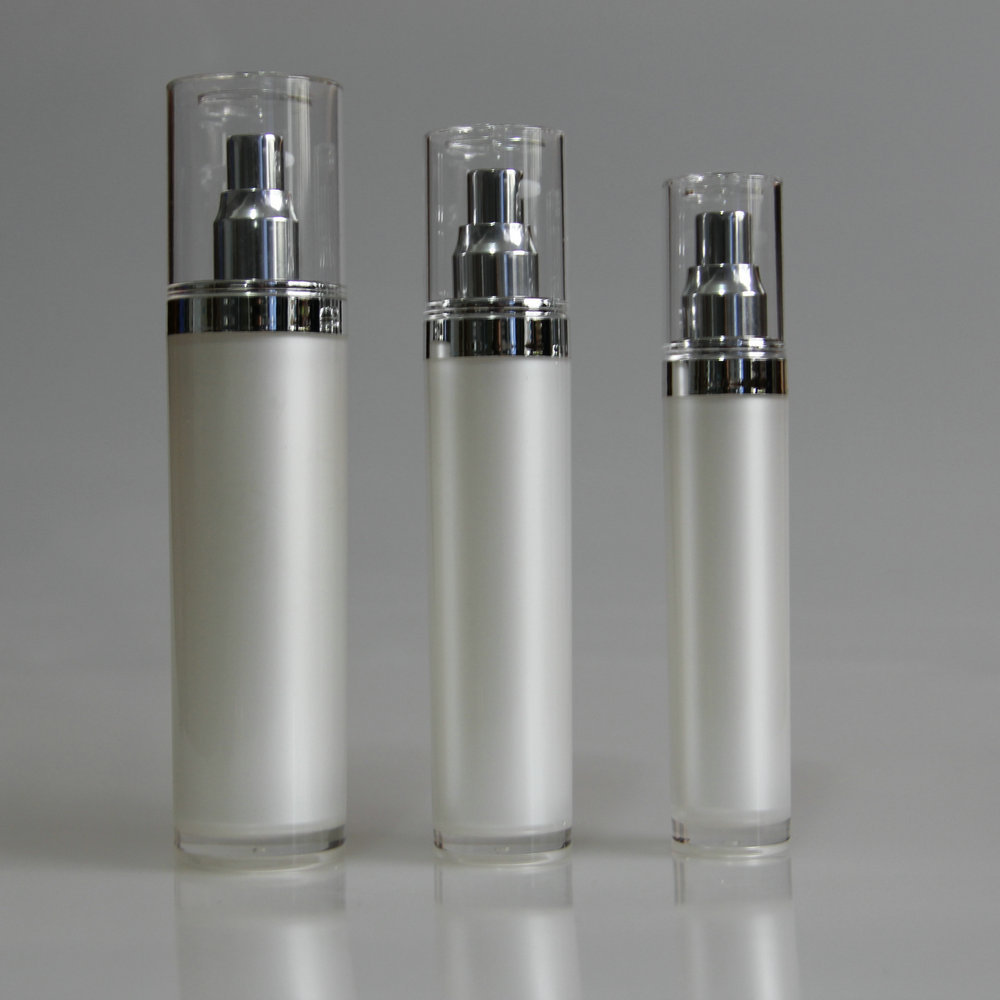 empty luxury cosmetic bottle packaging airless lotion