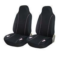 2-Piece Car Vehicle Front Seat Cover Set