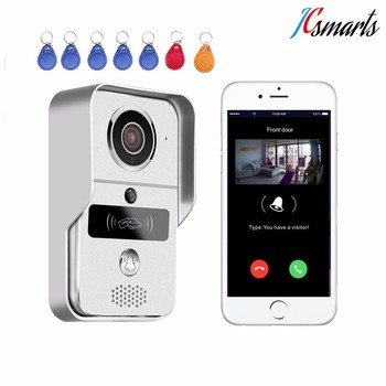 Wireless Front Door Bells Ip Video Doorbell Camera Smart Home
