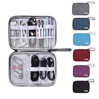 Electronics Accessories Cable Box Bag Electronic Device Cable travel gadget organizer bag