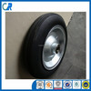 Qingdao manufacturer heavy duty WB6400 wheels 14x4 inch solid rubber wheel