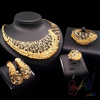 Hot Sale Indonesian 18k Gold Women Jewelry Set Products In 2016