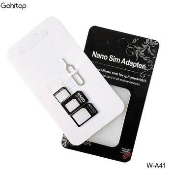 4 In 1 Sim Card Adapter Kit For Smart Phone,Sd Card Sim Adapter ...