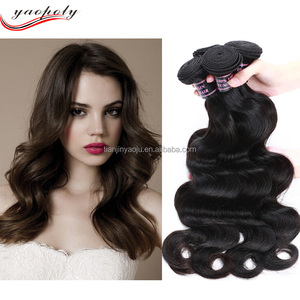 wholesale pure Brazilian remy virgin human hair weft large stock hair weaving dubai