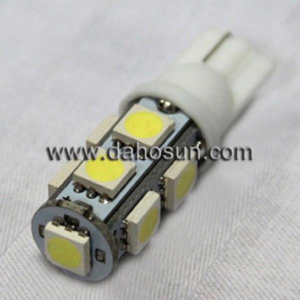 10XT10 194 501 W5w 9SMD 5050 приборной панели из светодиодов Readlight авто
