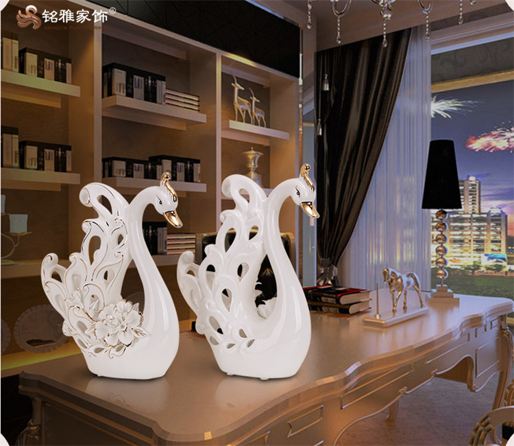 Wedding Table Decoration Pieces Porcelain White Swan Figurine For Living Room Decor Buy White Porcelain Figurines Small White Porcelain Figurines Swan Figurine For Living Room Decor Product On Alibaba Com