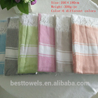 Custom high quality 100%cotton softtextile turkish towel