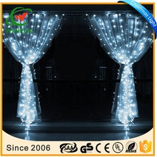 Pure White 4m 96 Led Wave Curtain Lighting Wedding Party