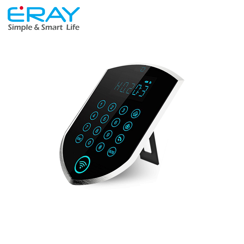 <strong>GSM</strong>+ PSTN Wireless Home Burglar Security Alarm System with Magnetic Door Sensor, remote control, PIR sensor