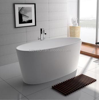 Italia Classic Design Natural Stone And Resin Stone Round Bathtub ...