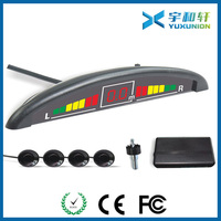 Ultrasonic parking sensor system with led display for all vehicle