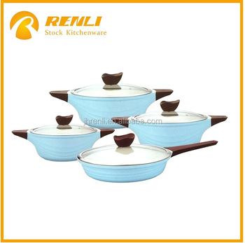 Overstock Cooking Pot,Stocklot Ceramic 8pcs Cookware Set As Seen ...