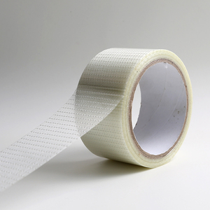 Strong grip soft cross-weaved Bi-directional filament tape