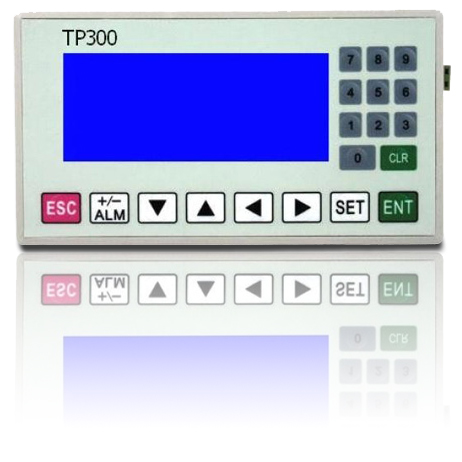 Haiwell TP300N for PLC programmable high definition LED text display with battery China brand