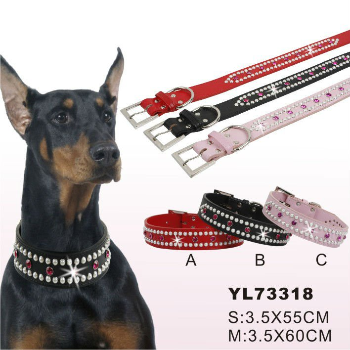 Leather dog collars big dogs