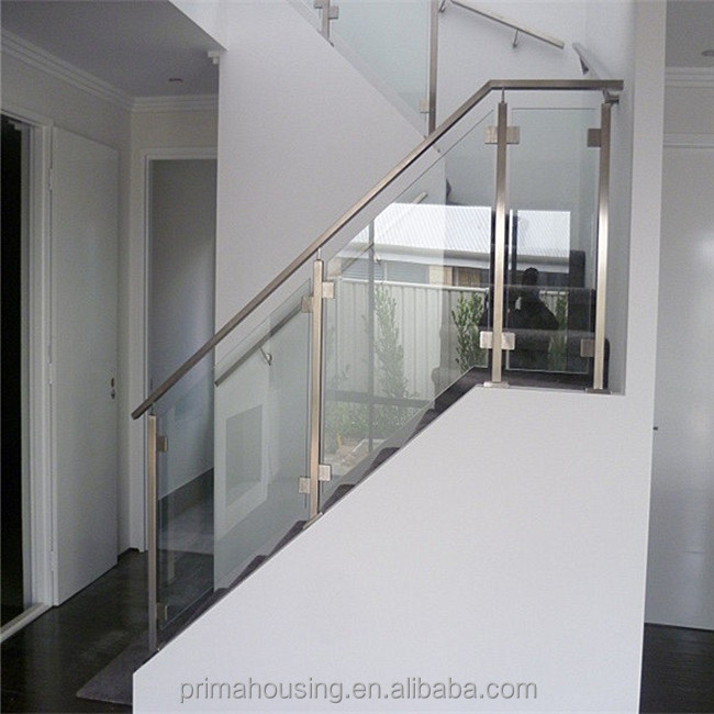 Indoor Staircase Glass Railing Design Buy Indoor Glass Railing