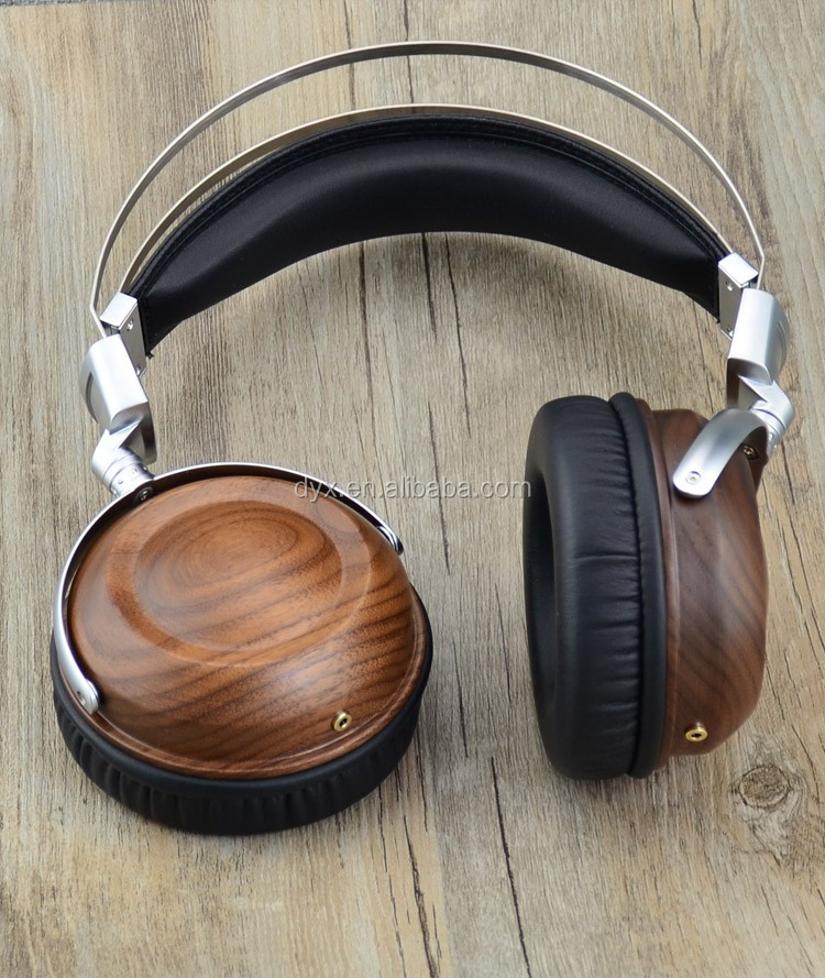 Top Quality Wood Headset Foldable Wireless Wooden Bluetooth Headphone