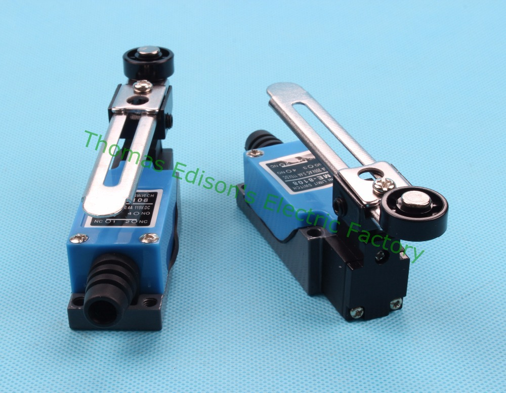 Adjustable Switch Manufacturers Mail: ME-ME-8108-limit-switch-Rotary-Adjustable-Roller-Lever-Arm