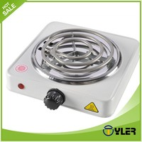Electric stove electric oven with hotplates