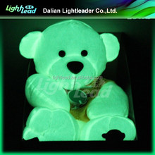 New glow in the darK teddy bear animal plush toy 2016 Hot sale top quality best price christmas decorations gift