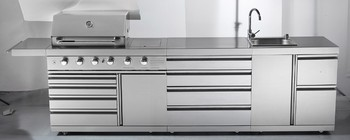 outdoor kitchen stainless steel cabinets. stainless steel outdoor kitchen cabinets bbq with AGA certification for  Australia