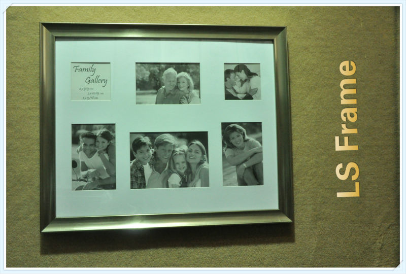 W3056 wooden Collage frame --Family gallery