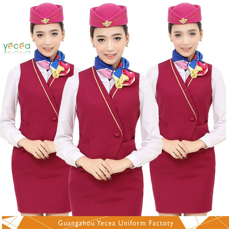 New flight attendant uniforms buy airline uniform flight for Spa uniform suppliers south africa