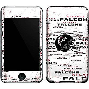 NFL Atlanta Falcons iPod Touch (2nd & 3rd Gen) Skin - Atlanta Falcons - Blast Vinyl Decal Skin For Your iPod Touch (2nd & 3rd Gen)