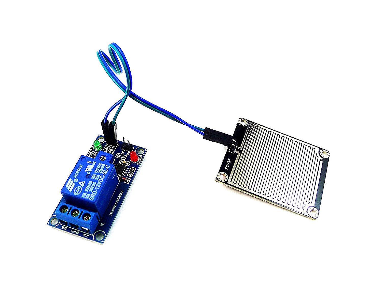 Buy Geri Highly Sensitive 12v Rain Sensor Module Relay Control Electric For Arduino Robot Kit