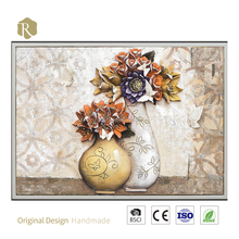 Living Room Decoration 3D Oil Painting Still Life Oil Painting For Wall Decor Gift China Relife Brand Canvas Wall Art