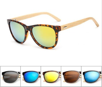 Wholesale Custom Bamboo and Wood Glasses Polarized Wooden Sunglasses Bamboo