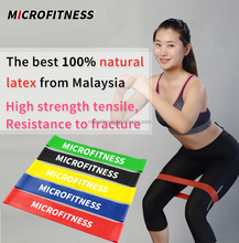 Natural Latex Resistance Booty Bands Workout Exercise at home or gym