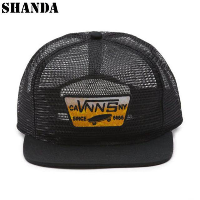 6e2d4afa45d Hot sale flat brim full mesh cap custom 5 panel hat trucker
