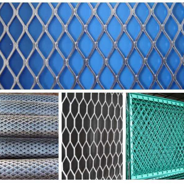 expanded metal for trailer flooring/expanded metal mesh /walkway with aluminum expanded metal