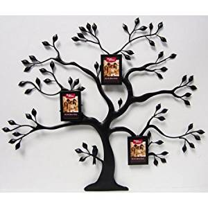 Metal Family Tree with 3 Mini Bronze Hanging Frames, Oil-Rubbed Bronze by Better Homes and Gardens
