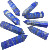Natural Lapis Lazuli Stone Crystal Points Healing Crystals Quartz Crystal Wands for Sale