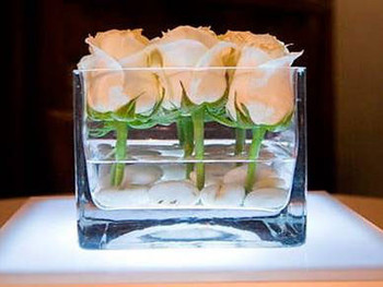 rectangular glass vase wedding decoration centerpieces buy wedding rh alibaba com centerpiece glass vases for sale tall centerpiece glass vases