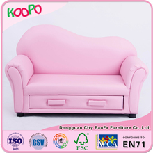 China factory leather sofa kids furniture mini bedroom sofa for children bedroom furniture set