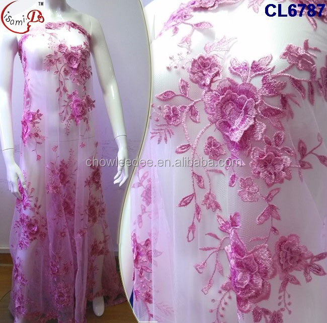 Cl6787 3d Embroidery Hot Sale Fashion New Design Net Lace For Making Wedding Dress Or Important Party Dress Lace Buy Lace For Fashion Design Lace Baju Kurung 2016 Fashion New Design Hot