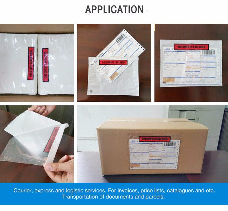 X New Zealand Market Use Packing Slip And Invoice Enclosed - Invoice enclosed pouches