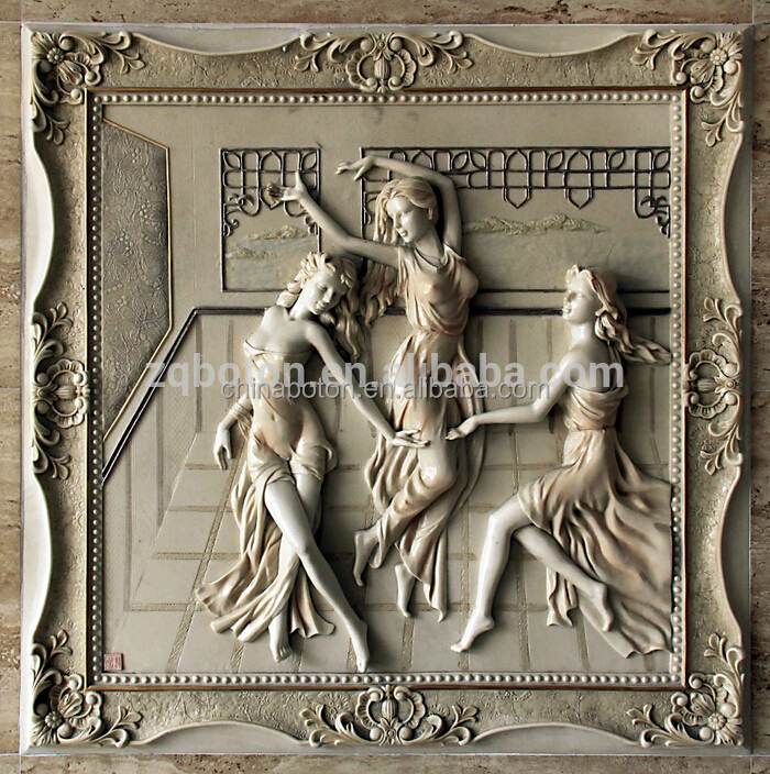 Abstract art stone carving relief wall sculpture buy
