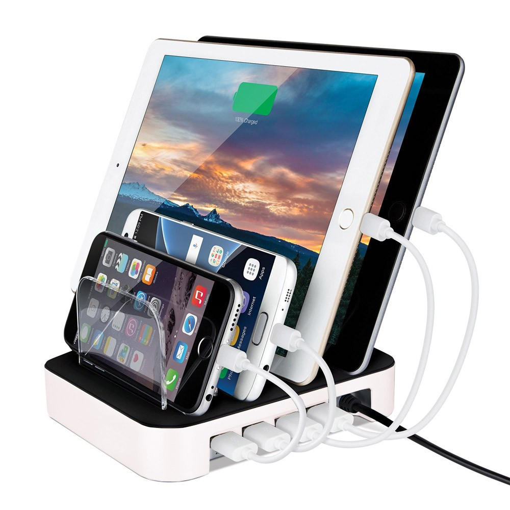 Charging Stations Multi USB Port Charger For Mobile Phone Tablet PC Stand  Holder