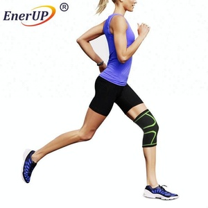 Zipper Knee Compression Sleeve In Extended Sizes