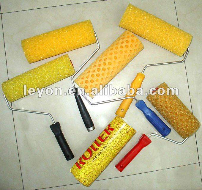 High Quality Wall Decorative Paint Roller Brush With Good Paint Roller  Brush Design - Buy Decorative Paint Roller,Paint Roller Brush Design,Wall