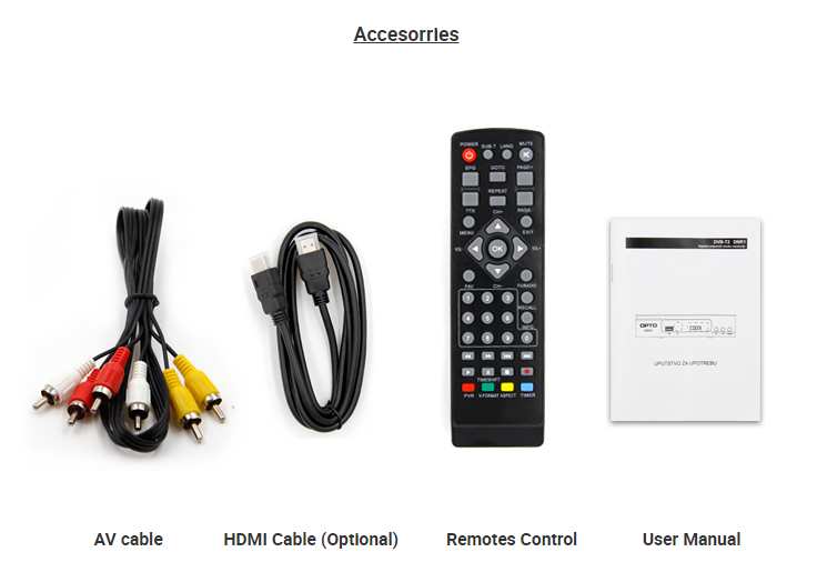 Best seller Decoder TV Digital Full HD MPEG4 DVB S2 T2 Combo TV Receiver