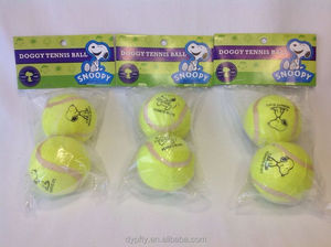 Pink Pressureless Practice Tennis Balls 3 Pack NEW