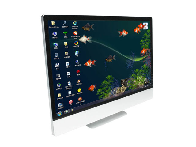 22 inch IPS FHD desktop Touch screen monitor with DVI and VGA