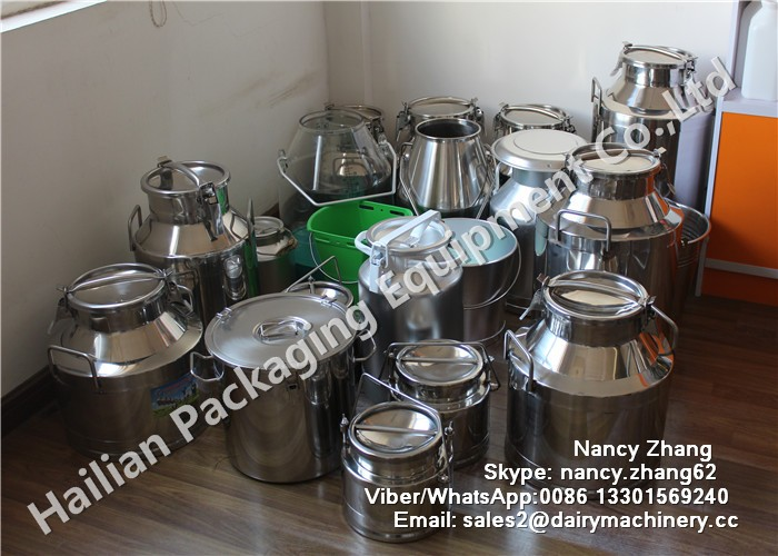 20 liter Non-magnetic Stainless Steel Milk Drum