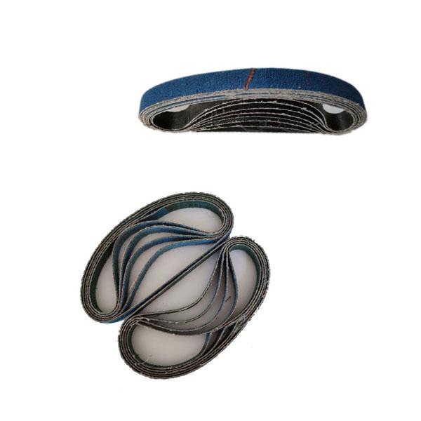 "20 PACK 80 Grit Aluminum Oxide File Sanding Belts 3//8/"" x 13/"" 10mm x 330mm"